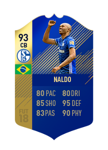 FIFA 18 Bundesliga Team of the Season Naldo