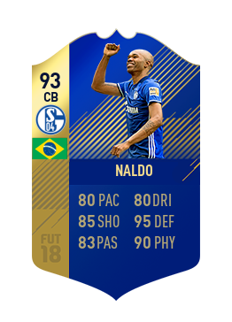 FIFA 18 Bundesliga Team of the Season Naldo