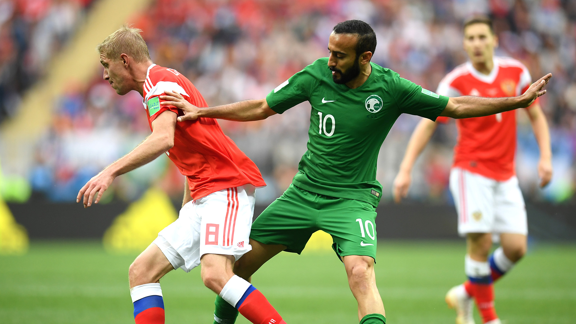 Russia Saudi Arabia World Cup 2018