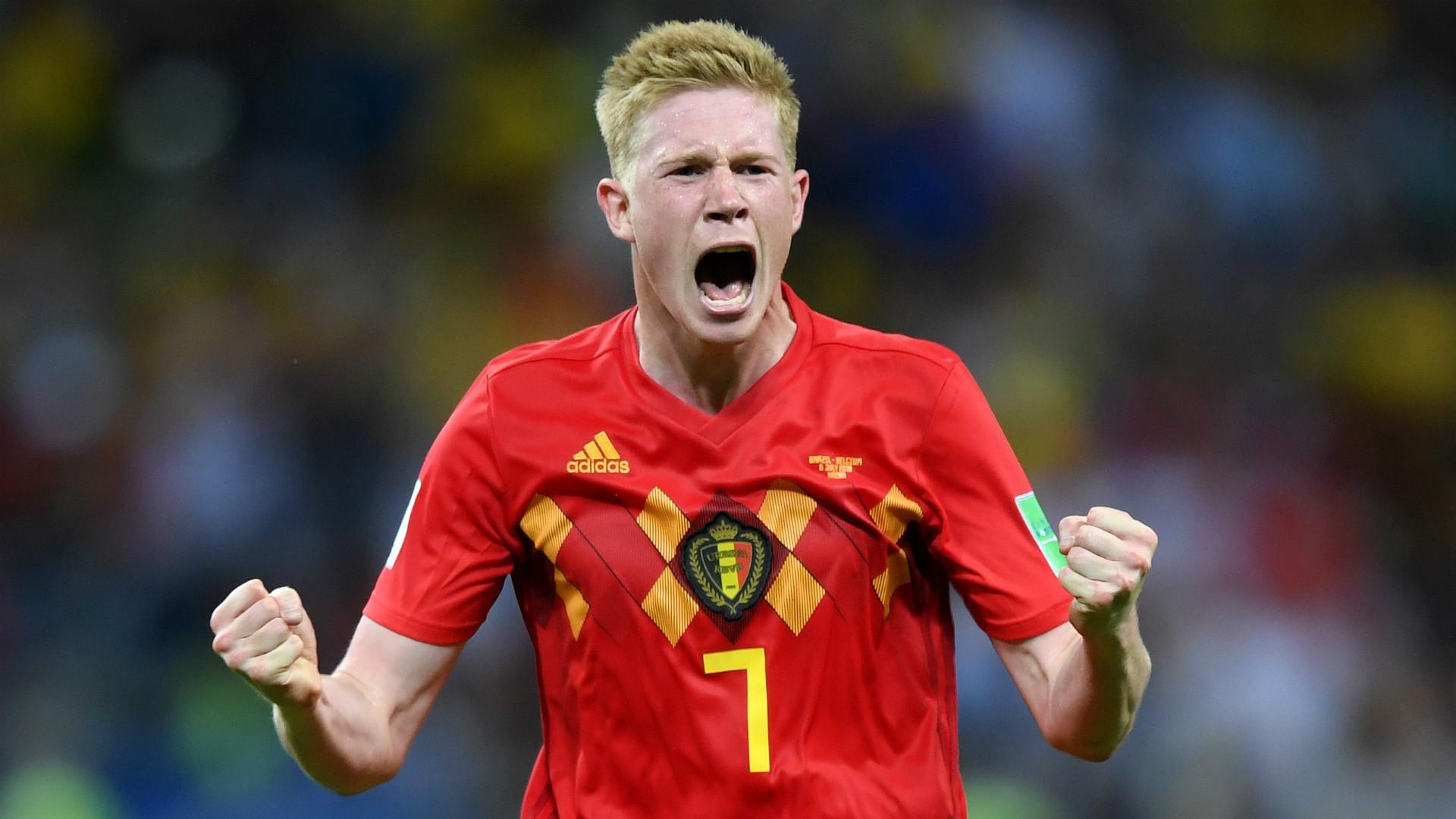 Kevin De Bruyne Belgica Copa 2018