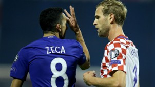 croatia greece - ivan strinic zeca - world cup playoff - 09112017