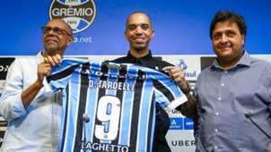 Diego Tardelli apresentação Grêmio 13022019