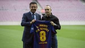 Andres Iniesta renewal