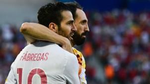 Cesc Fabregas Spain Euro 2016