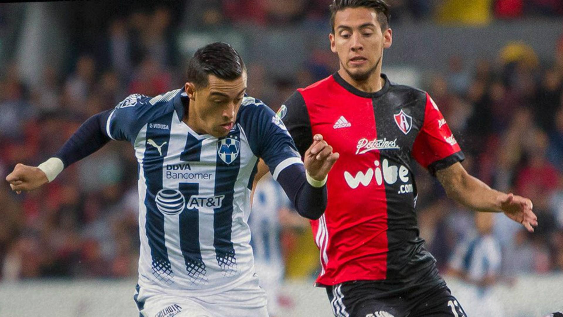 Monterrey pega primero y vence al Atlas 1-2