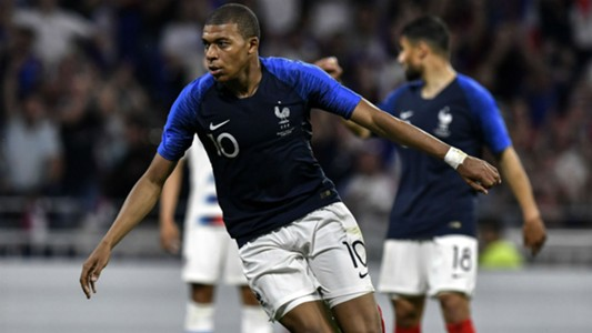 Kylian Mbappe France USA Friendly 09062018