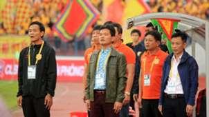 Coach Nguyen Van Sy Hai Phong FC vs Nam Dinh FC V.League 2019