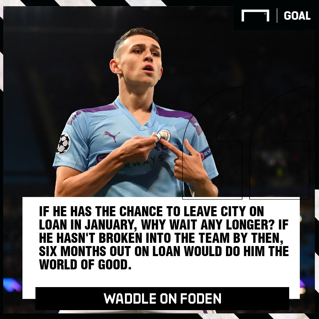 Phil Foden Chris Waddle Manchester City PS