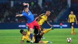 Gabriel Guerra, Johor Darul Ta'zim, Perak, Super League, 26/07/2017