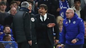 Jose Mourinho Antonio Conte Manchester United Chelsea