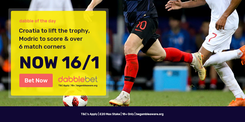 World Cup final dabble of the day graphic