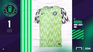 #1 - Nigeria Home - Jersey Terbaik 2018/19