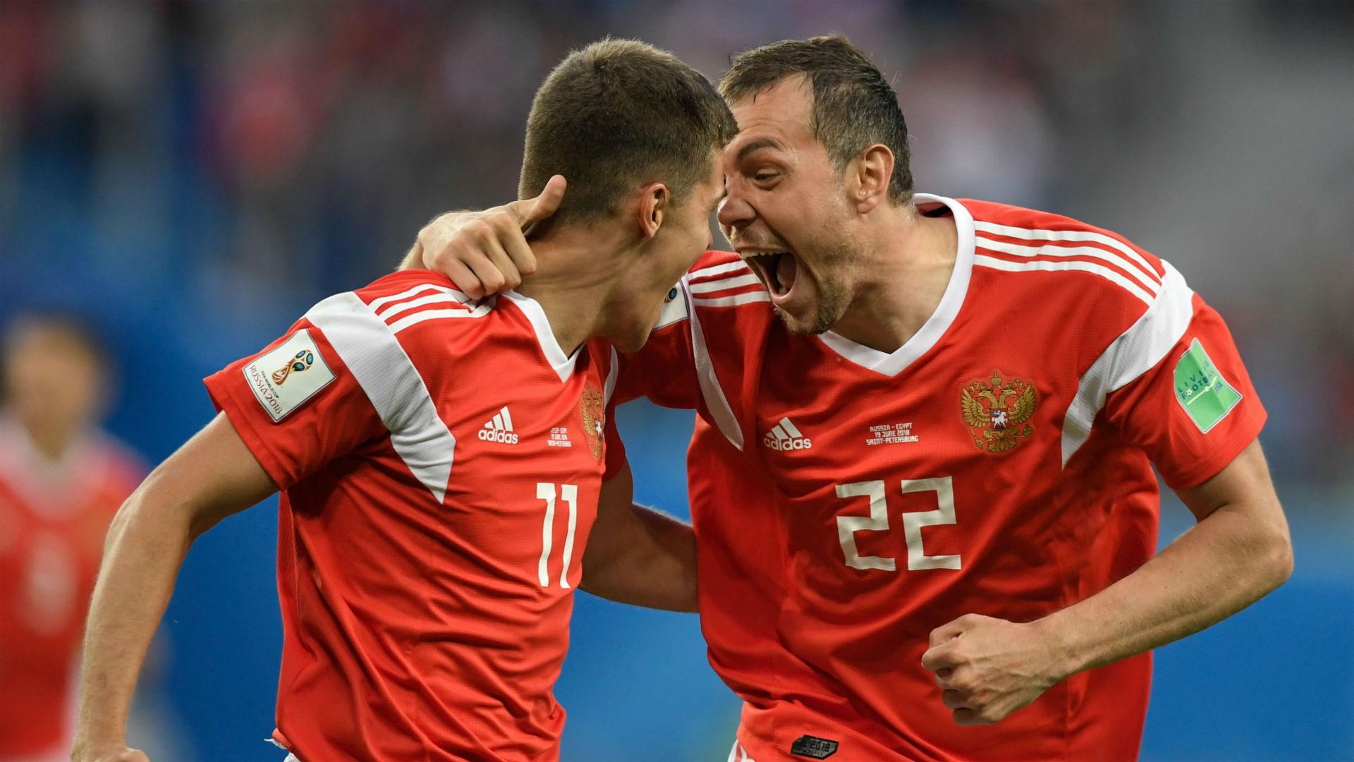 Image result for Artem Dzyuba russia goal gif