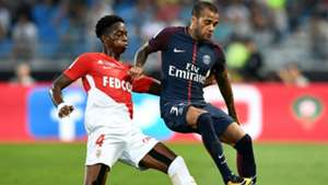 Daniel Alves Terence Kongolo Monaco PSG Trophee des Champions 29072017