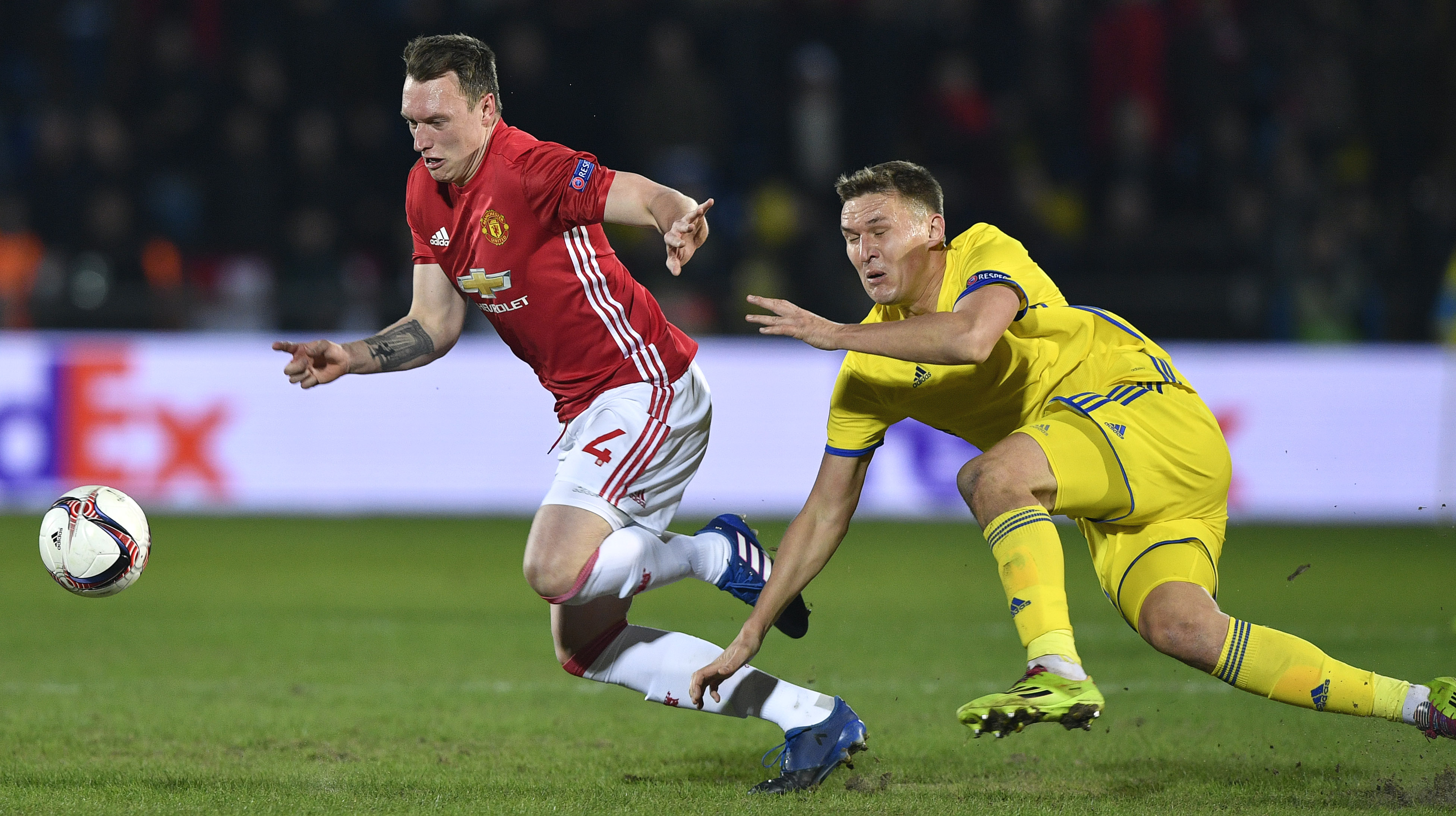 Phil Jones Rostov Manchester United