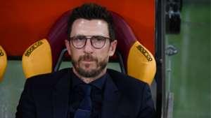 Eusebio Di Francesco, Roma, Serie A, 13052018