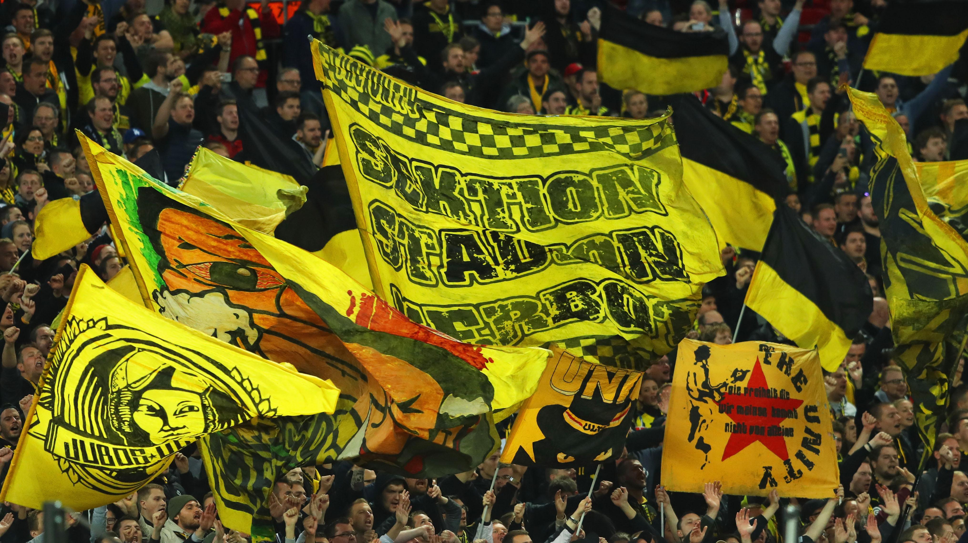 VfB Stuttgart sperrt Fans von Borussia Dortmund aus