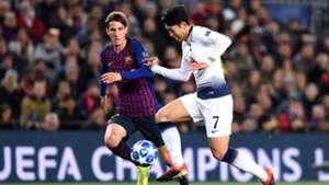 Juan Miranda Barcelona Tottenham