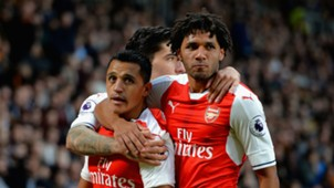 Alexis Sanchez Mohamed Elneny Arsenal
