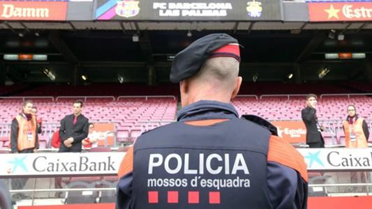Camp Nou police