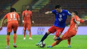 Gabriel Guerra, Johor Darul Ta'zim, PKNS, Super League, 24/05/2017