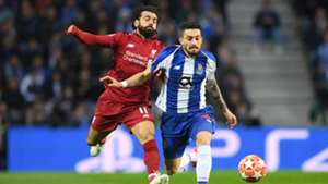 Salah Liverpool Alex Telles Porto Champions League 0419