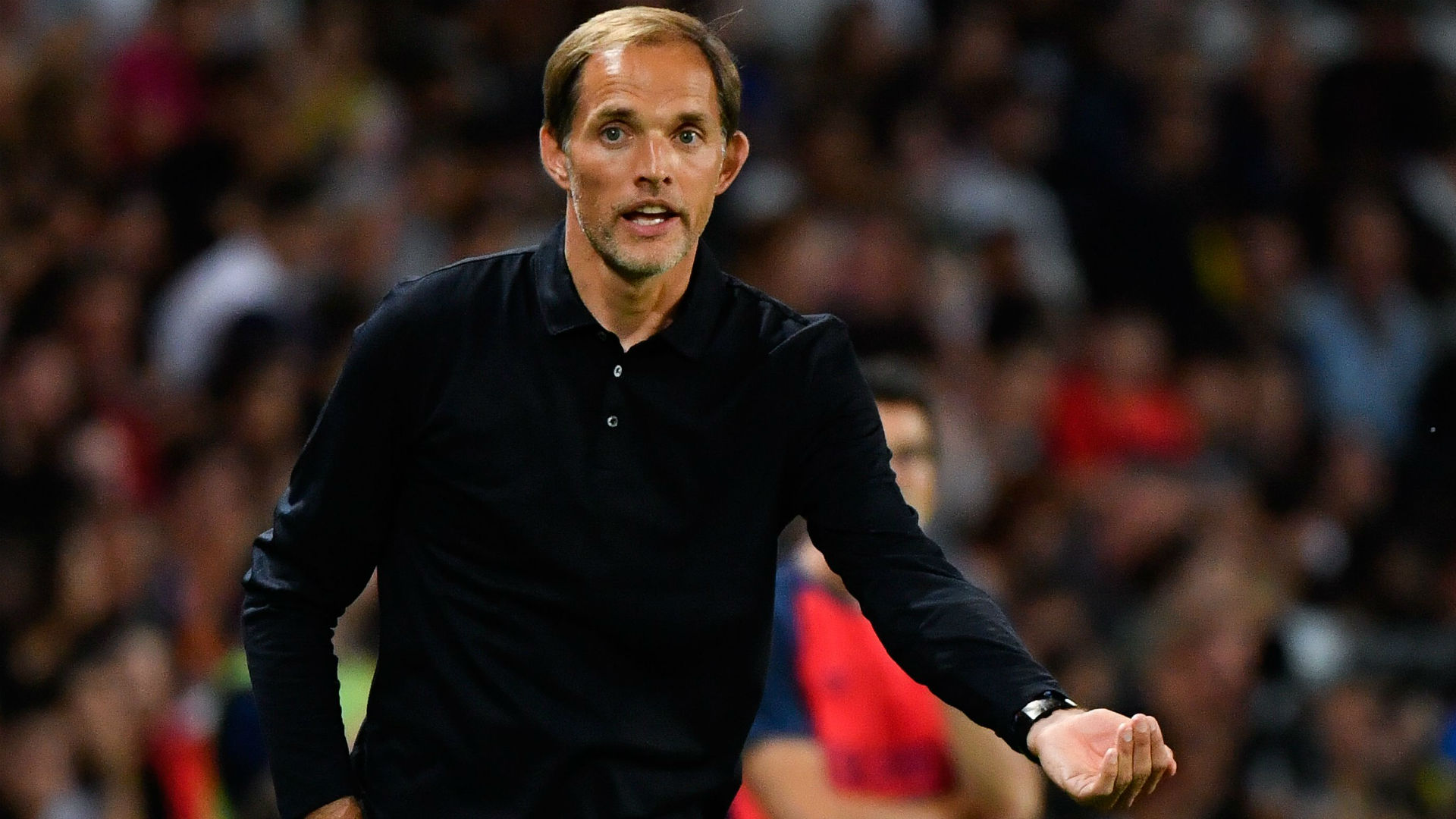 Thomas Tuchel PSG Caen Ligue 1 12082018