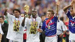 Lillian Thuram Didier Deschamps France World Cup 1998
