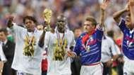 Lillian Thuram Didier Deschamps France World Cup 1998