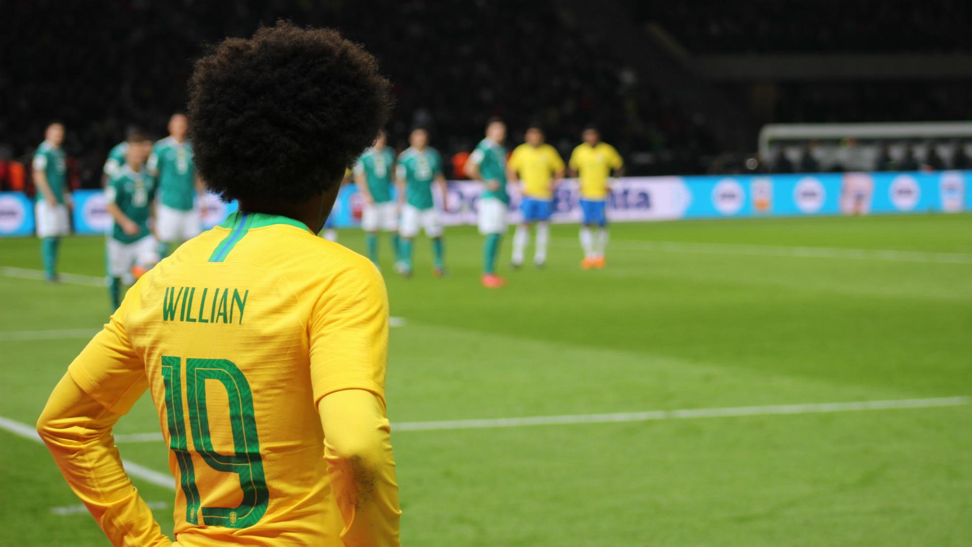 Willian Brazil Germany 27032018