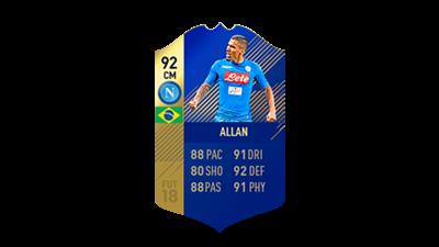 FIFA 18 Calcio A Team of the Season Allan