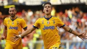 Paulo Dybala Genoa Juventus Serie A 08262017