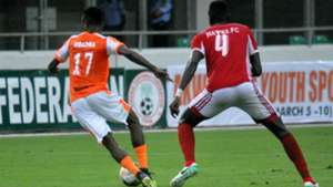 Akwa United vs. Hawks of Gambia