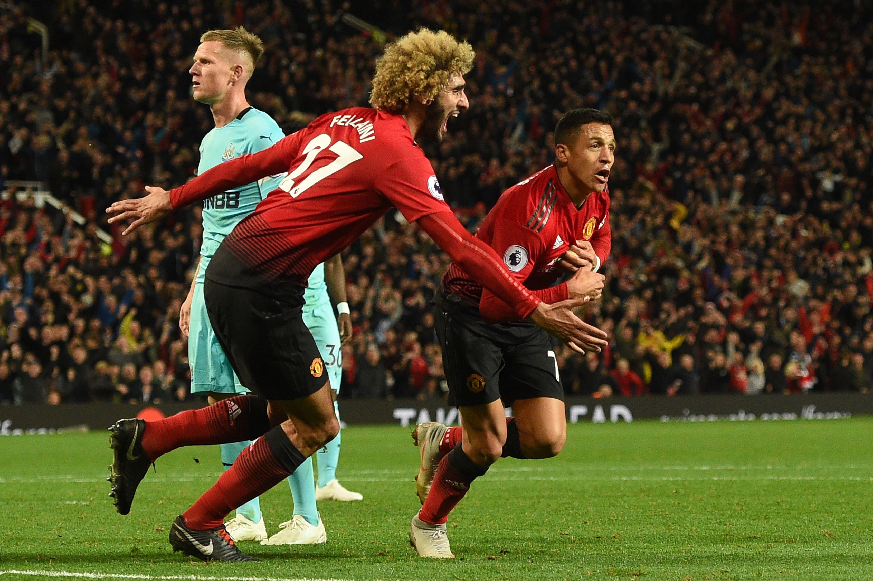 Manchester United Newcastle United Premier League 06102018