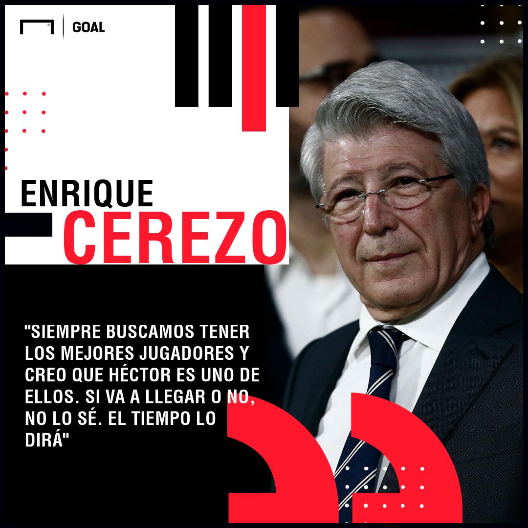 Enrique Cerezo Atlético Madrid