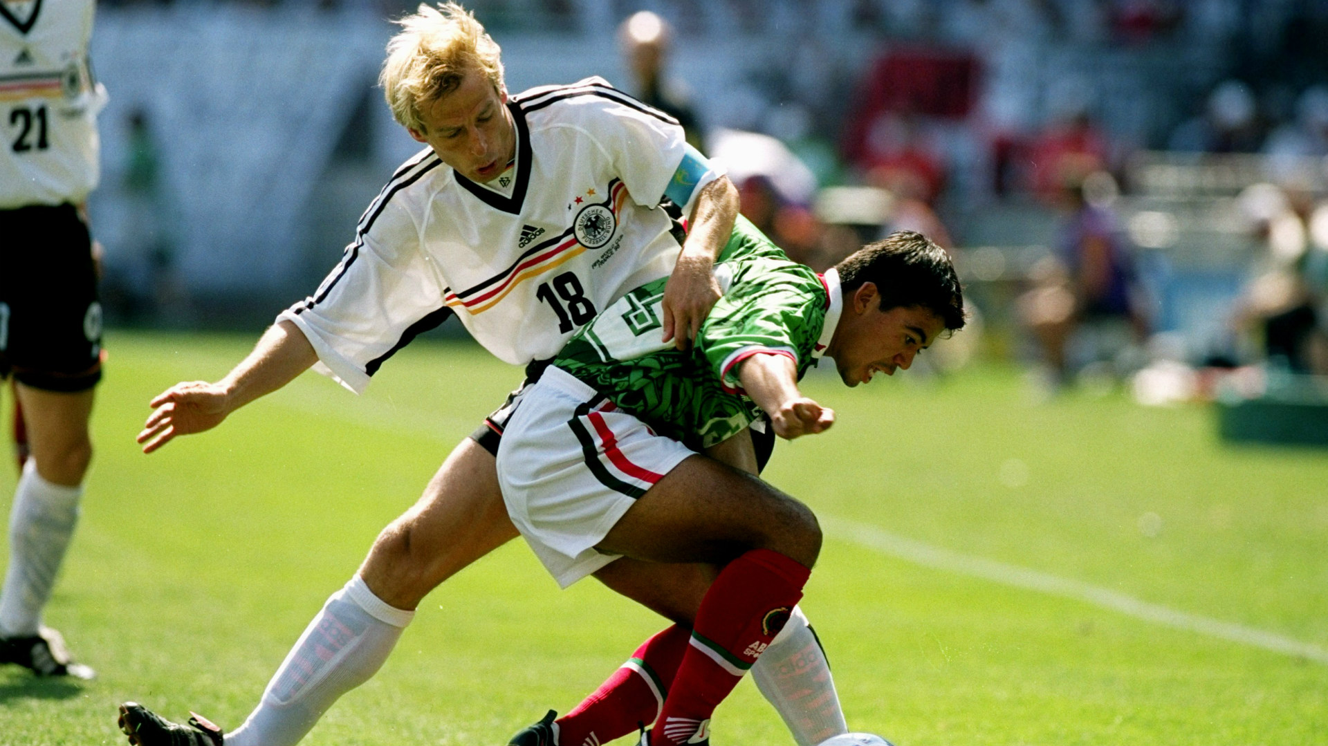 Pavel Pardo Mexico Jurgen Klinsmann Germany