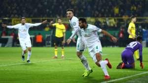 Claudio Pizarro Borussia Dortmund Werder Bremen DFB-Pokal 05022019