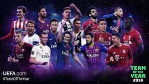 Team of the Year nominees