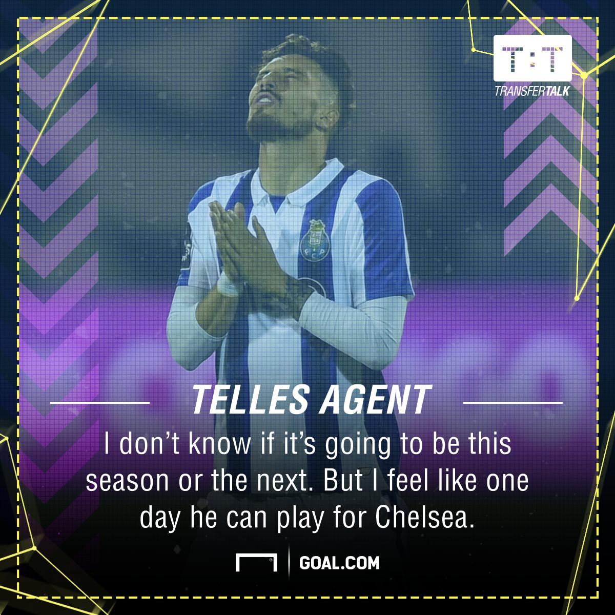 Alex Telles Chelsea agent