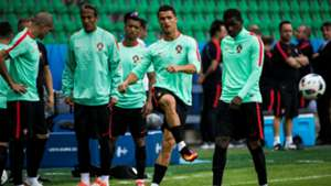 Cristiano Ronaldo Portugal training Euro 2016