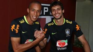 Rodrigo Caio e Miranda - Brasil e São Paulo - 7/10/2017