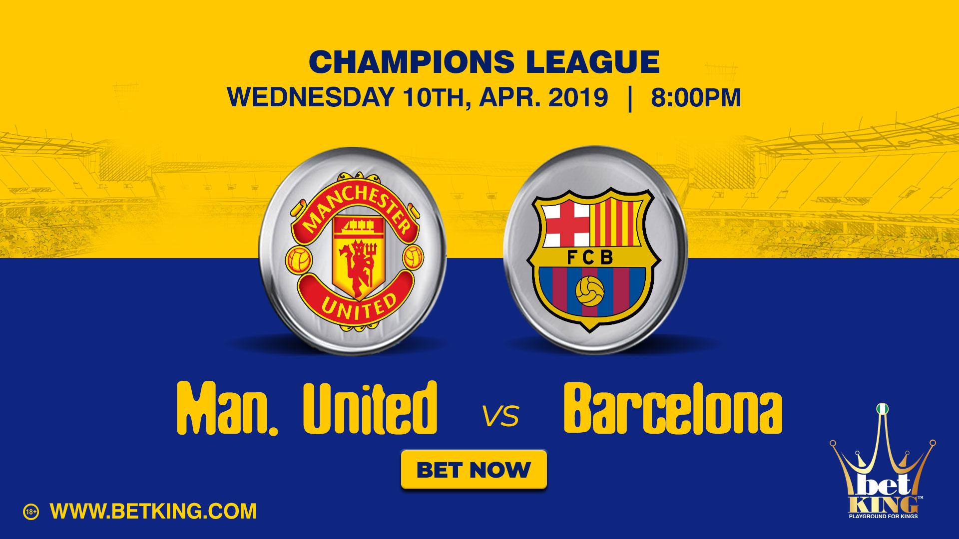 Betking Man United Barcelona