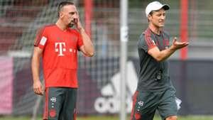 Nico Kovac Franck Ribery Bayern Munchen