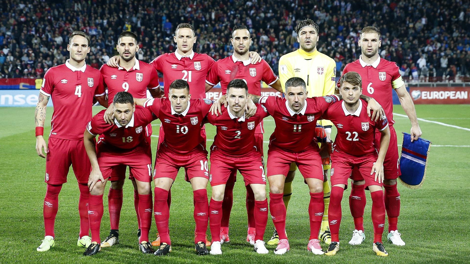 Serbia national team 2017