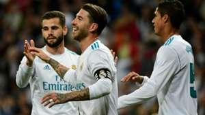 Nacho Ramos Varane Real Madrid Eibar LaLiga