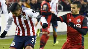 Carlos Salcido Sebastian Giovinco Toronto FC Chivas CONCACAF Champions League