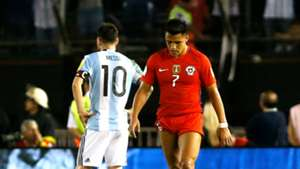 Alexis Sánchez - Lionel Messi