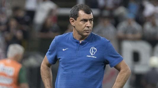 """""""Forma de jogar do Corinthians está definida"""", diz Carille após classificação"""