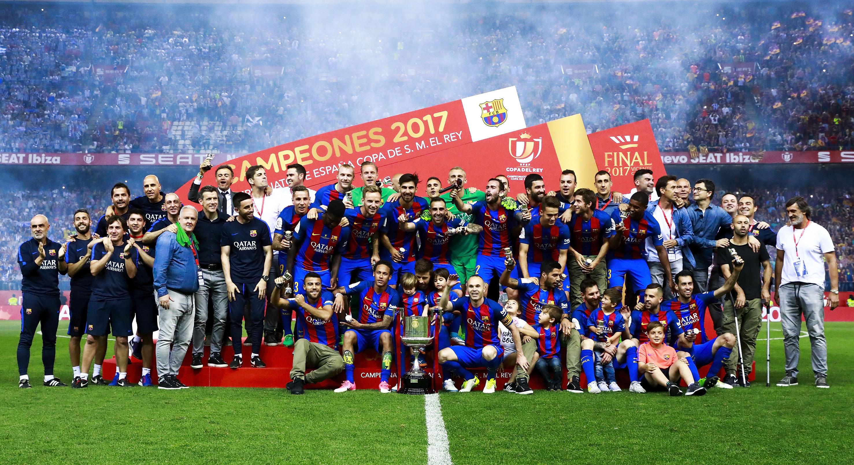 Barcelona Copa del Rey 2017