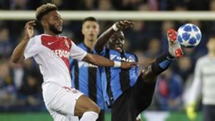 Moussa Sylla Marvelous Nakamba Brugge Monaco UEFA Champions League 24102018